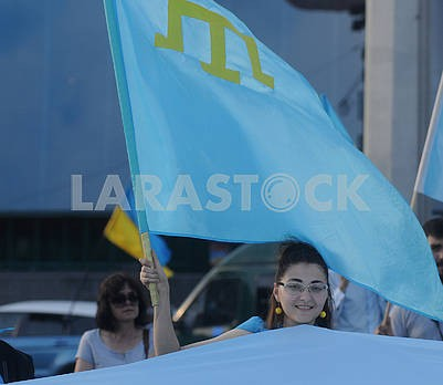 Celebrating the Day of the Crimean Tatar Flag