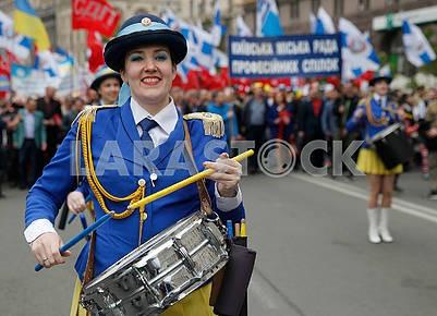 Kiev ensemble of drummers