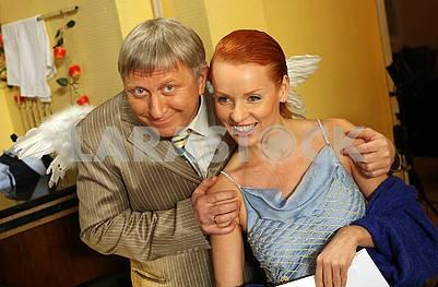 Vladimir Goryansky and Jeanne Epple