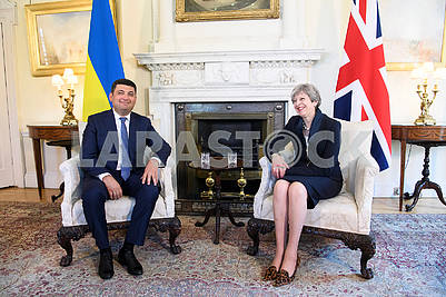 Vladimir Groisman and Theresa May