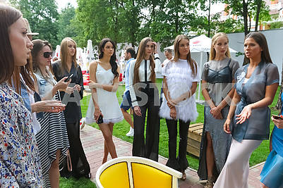 "Presentation of the contenders for the title ""Miss Ukraine 2017"" and ""BACKSTAGE POOL PARTY with Miss Ukraine"""