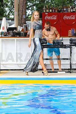 """Presentation of the contenders for the title """"Miss Ukraine 2017"""" and """"BACKSTAGE POOL PARTY with Miss Ukraine"""""""