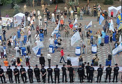 Митинг под Верховной радой