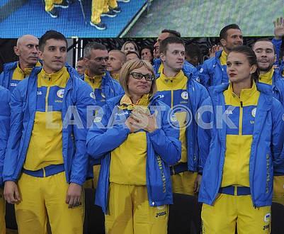Participants of Ukrainian deflympic team