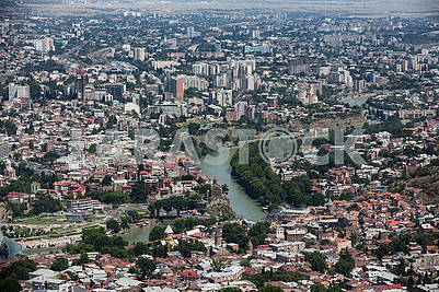 Вид Тбилиси
