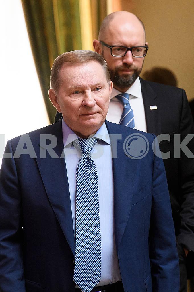 Leonid Kuchma and Arseniy Yatsenyuk — Image 57813