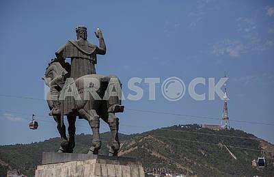 Царь Давид Строитель, памятник