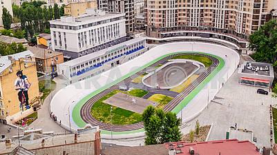 Kiev cycle track