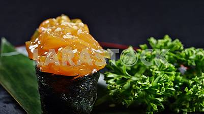 Seafood beauty of gourmet dishes. Bon Appetit!