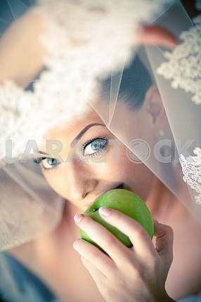 Portrait of a beautiful bride