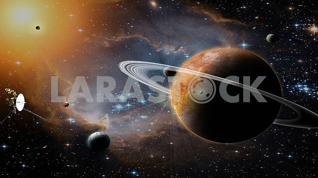 Space is like the future, not predictable. — Image 60151