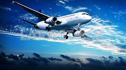 Самолеты в воздухе это очень красиво.