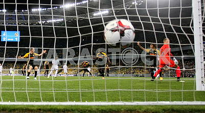 Goal to the goal of Young Boys