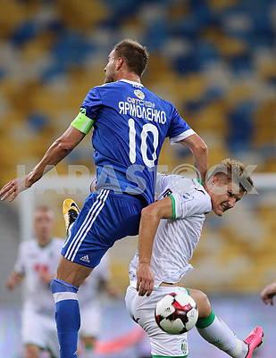 Andrii Yarmolenko, Ivan Lobai