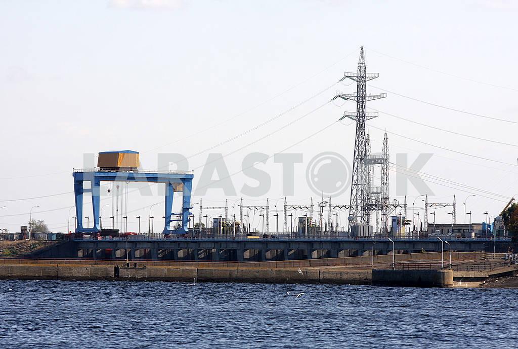 The dam of the Kiev HPP — Image 60578
