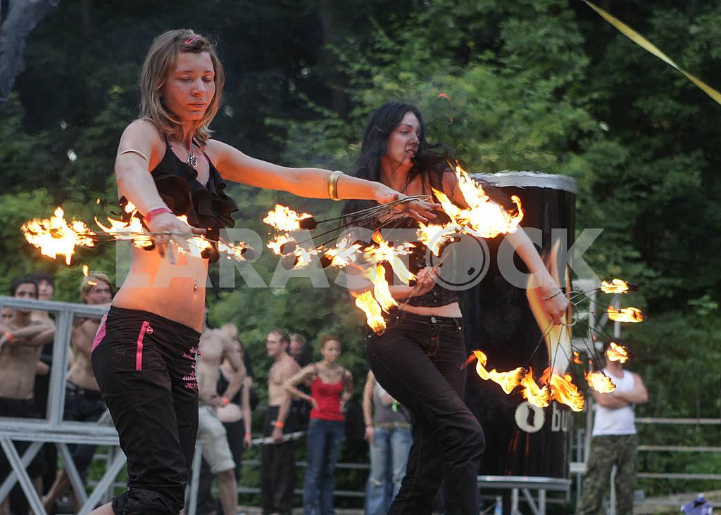 Fire show in Kiev — Image 60638