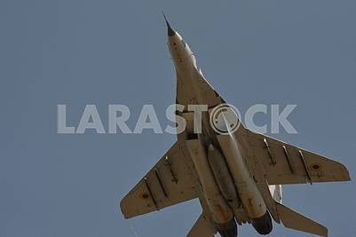 Military aircraft MiG-29 fighter