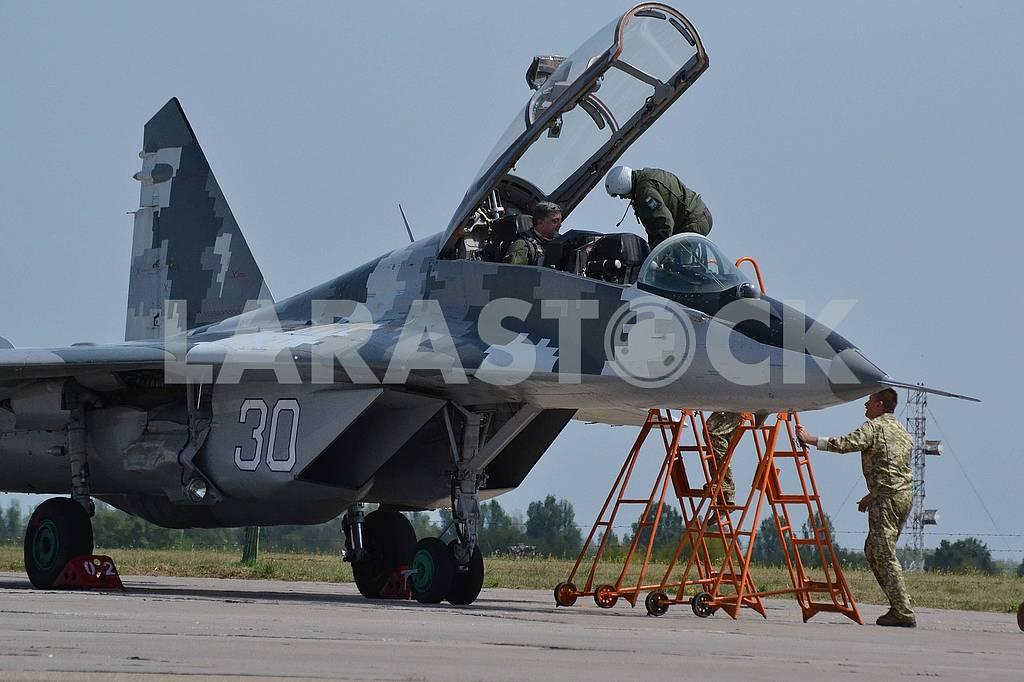 MiG-29UB fighter — Image 60764