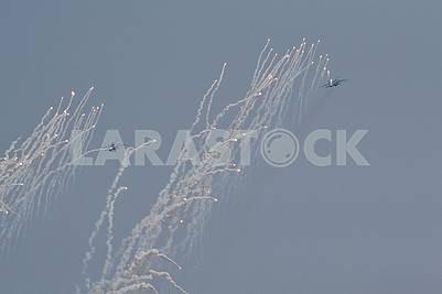 Couple Su-27