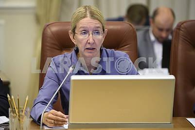 Uliana Suprun, Ministry of Health