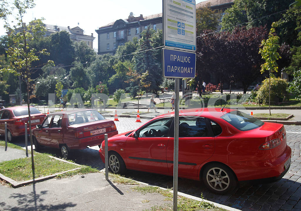 Cars in the parking lot — Image 60855
