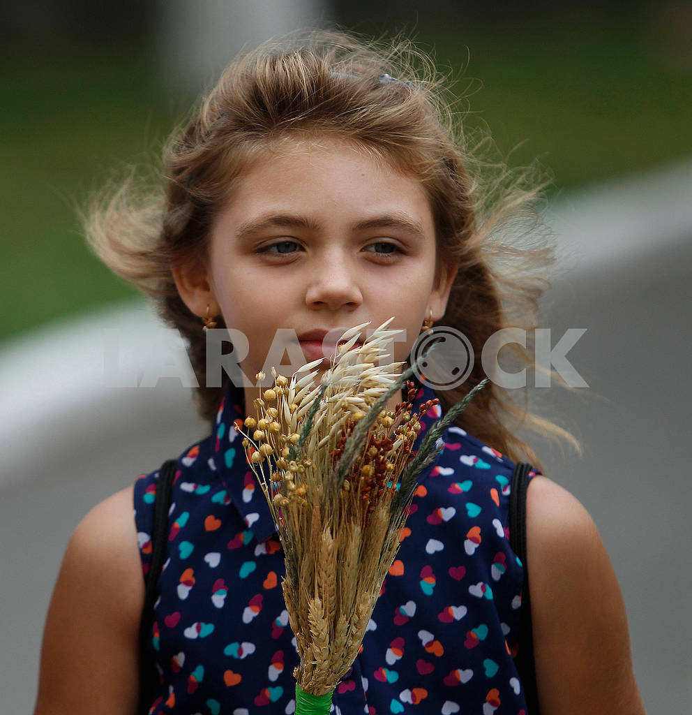 Girl with a bouquet — Image 61015