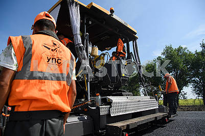 Construction of the Boryspil-Dnipro-Zaporozhye road