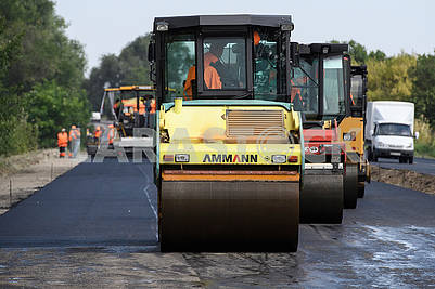 Construction of the Boryspil-Dnipro-Zaporozhye road
