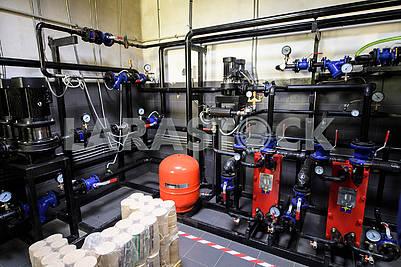 Autonomous boiler room