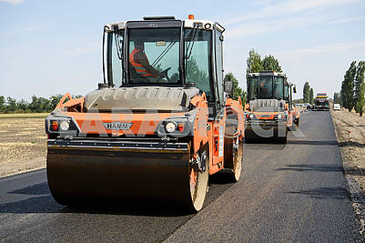 Construction of the road Kalyivivka-Snigurivka-Berezneguvate