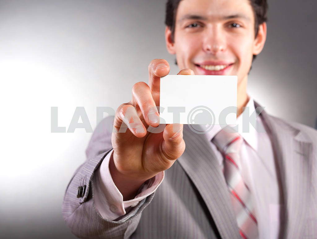 Blank business card — Image 6117