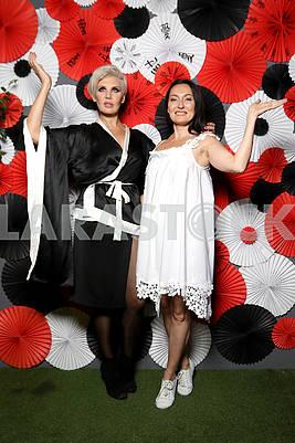 Svetlana Volnova and Marta Cholod