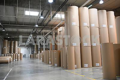 Corrugated board manufacturing