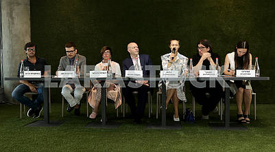 Press conference of the International Fashion Week Mercedes-Benz Kiev Fashion Days SS`18.