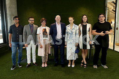 Press conference of the International Fashion Week Mercedes-Benz Kiev Fashion Days SS`18.
