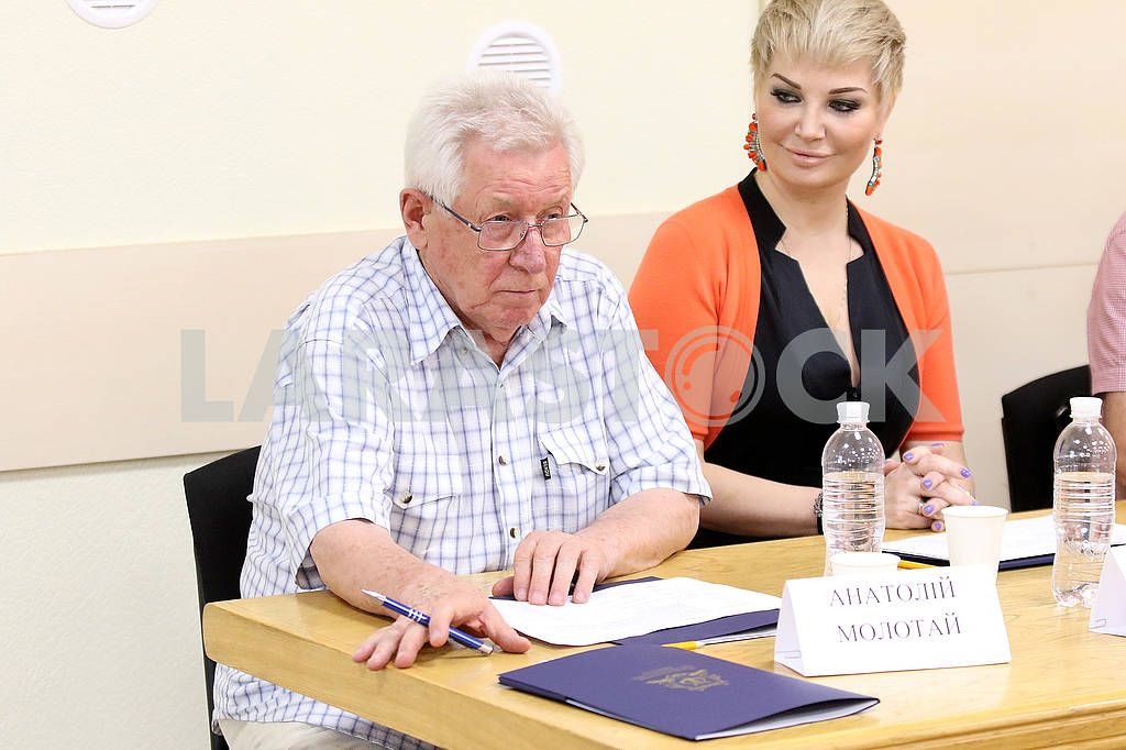 People's Artist of Ukraine, artistic director of the National Presidential Orchestra Anatoly Molotay and opera singer Maria Maksakova — Image 61345
