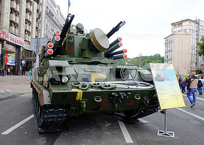 Tunguska, surface-to-air missile system