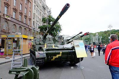 Hyacinth C, self-propelled howitzer
