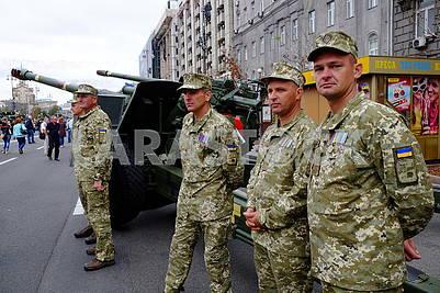 Servicemen of APU