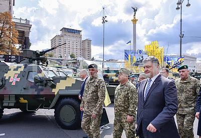 Stepan Poltorak, Petro Poroshenko, Pyotr Tsigikalo