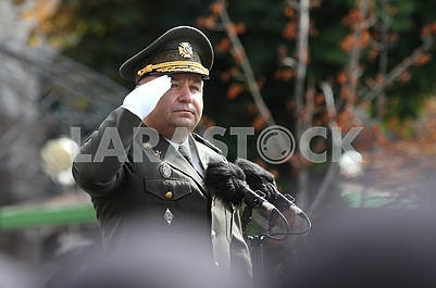 Minister of Defense Stepan Poltorak