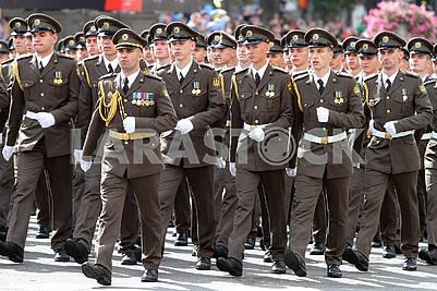 Участники парада
