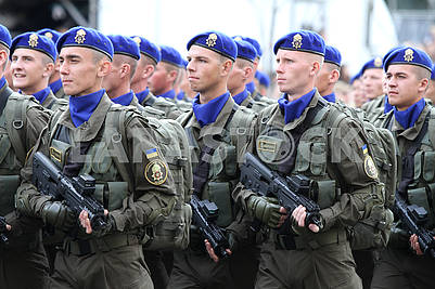 Soldiers of the airborne