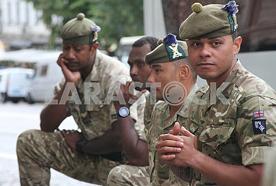 Soldiers of  United Kingdom