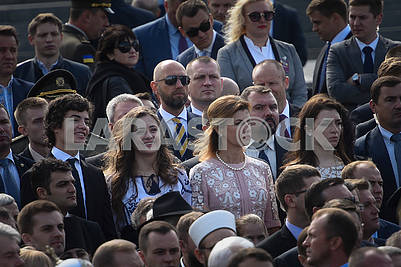 Poroshenko's family and Arseniy Yatsenyuk