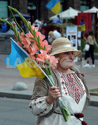 People on Khreshchatyk