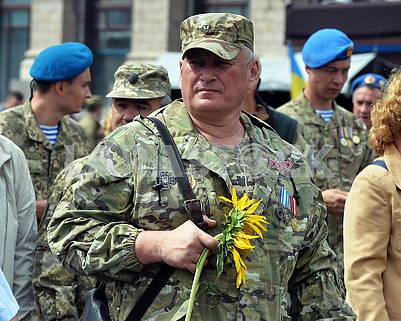 Military on Khreshchatyk