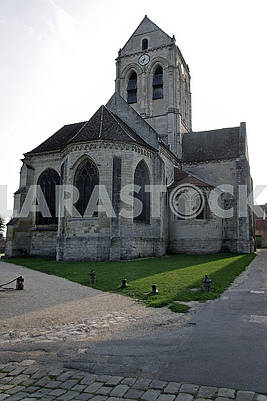 Church Our Lady at Auvers-sur-Oise (France)