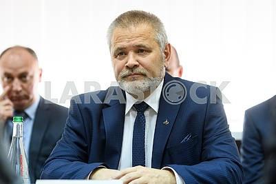 Head of the State Agency Pavel Degtyarenko