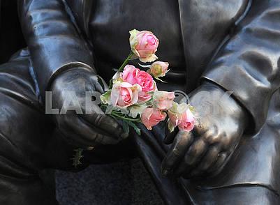 Monument to Nikolai Mozgovoy